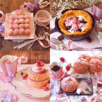 桜スイーツ