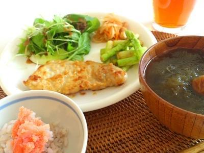 味噌と塩麹漬け豚ロース