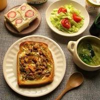 GABANスパイスの『パブリカ』で簡単おかずトーストが美味しい♪