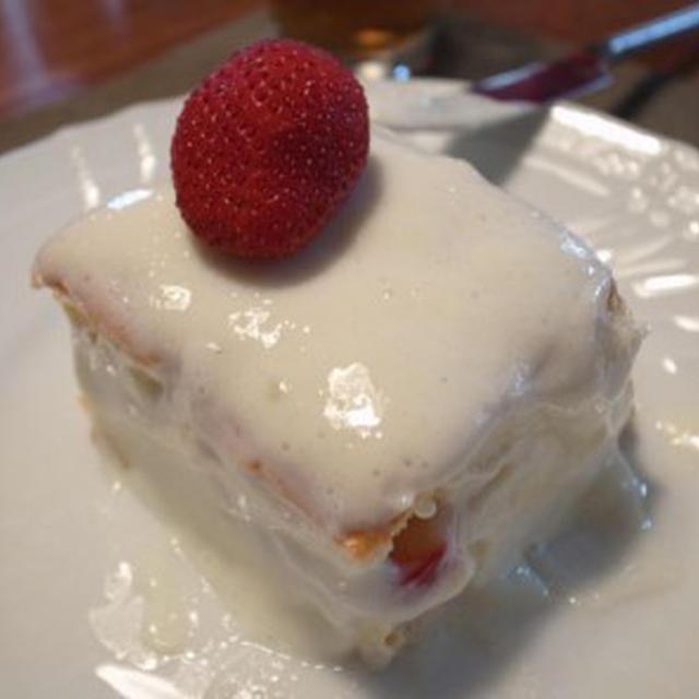 いちごのケーキ【低脂肪】の実験