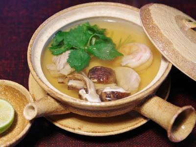 >松茸の土瓶蒸し と 松茸ご飯 by のりえさん