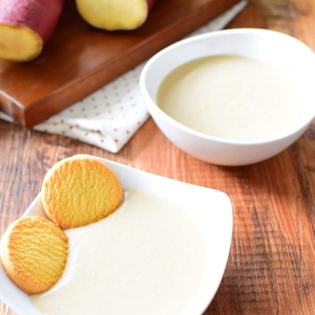 アイスやクッキーに黒糖さつまいもクリームのレシピ