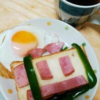 男の子が喜ぶ電車プレート~リプトンひらめき朝食レシピ