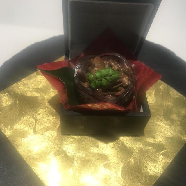たまプラーザ開運和食 日本酒に合ううな肝山椒煮