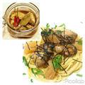【リメイク】牡蠣のオイル漬け→牡蠣のペペロンチーノ味付き数の子をトッピングしました。...