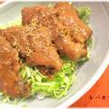 ☆鉄分メニュー☆レバカツ丼