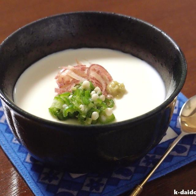 簡単で美味い!手作り豆腐は電子レンジでチン♪ ~ 北の大豆 無調整豆乳
