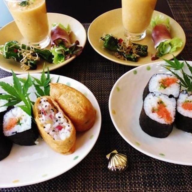 予約投稿になります☆寿司2種類♪~♪