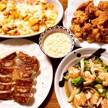 最近の晩御飯とコストコレポ(カニ、水餃子、合い挽きなど)