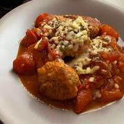 トマトのおいしさ爆発♡ポルペッティーニ(イタリア風肉だんご)
