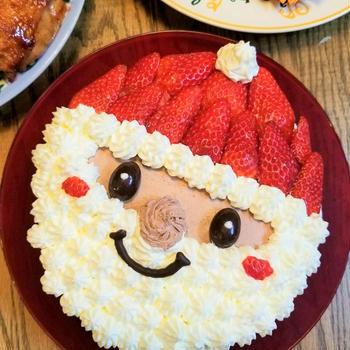 誕生日とクリスマスケーキ