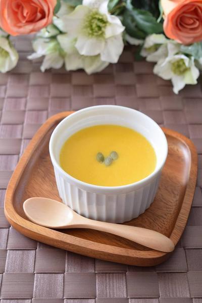かぼちゃのスープ ハロウィンレシピ