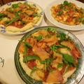 手作りピザ スモークサーモンピザ