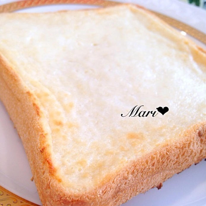 濃厚風味がやみつき!簡単「チーズケーキトースト」を作ろうの画像