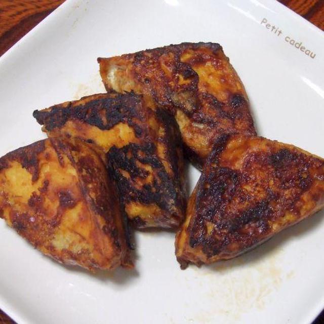 厚揚げバーグ&舞茸と手羽のラー油煮込み