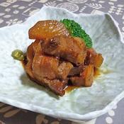豚バラの時短角煮
