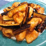 鶏胸肉となすの甘酸っぱ焼き煮(ダイエット、ヘルシー、節約)