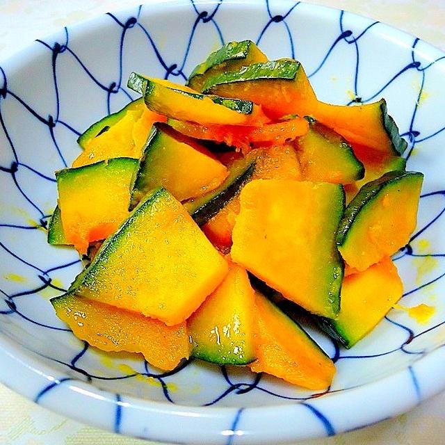 「韓国風かぼちゃの炒め物」