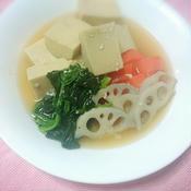 洋風高野豆腐の煮物
