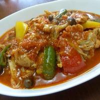 【コラボ企画】鶏肉と野菜のトマトソース煮込み♪