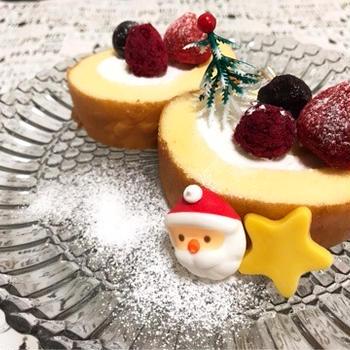 クリスマススイーツ☆ロールケーキ
