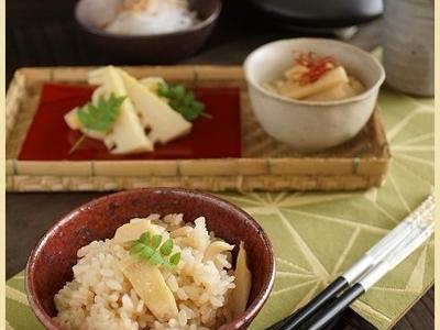 >中華風味のタケノコご飯(レシピ) by little happyさん