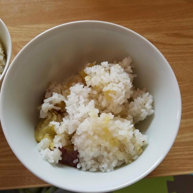 さつま芋ご飯(炊飯器)