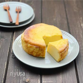 極しっとり!!マスカルポーネのベイクドチーズケーキ
