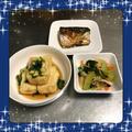 【献立20】さば塩焼き・あげだし豆腐・青梗菜と人参のナムル