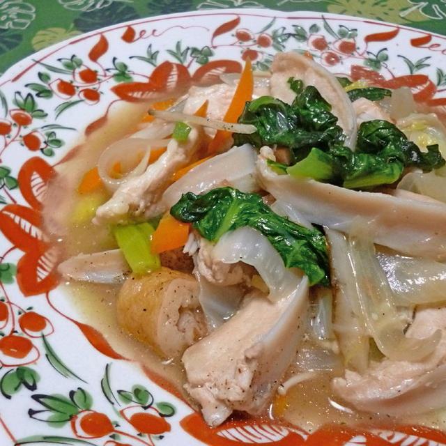 鶏ヤゲンの中華煮込