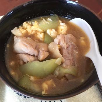 ナーベラー味噌炒め煮