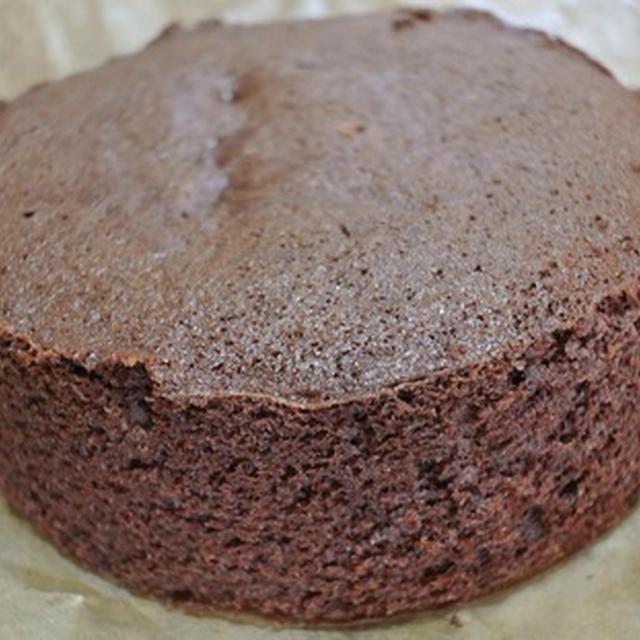 チョコレート・スポンジケーキ