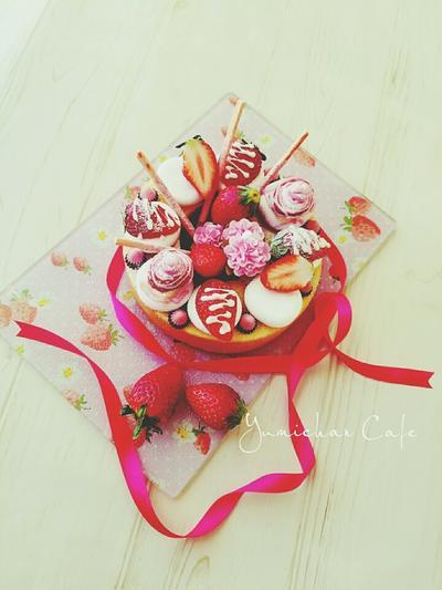 ♡市販のバームクーヘンde作る♪ひな祭りケーキ♡【簡単*バームクーヘン*時短】