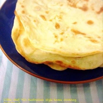 お家にある材料でできる平たいパン、ロティブレッド。