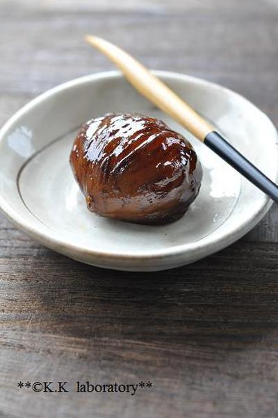 三田栗で作る紅茶仕込みのマロングラッセ~煮込みから完成まで~