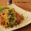 花椒風味の油淋鶏。