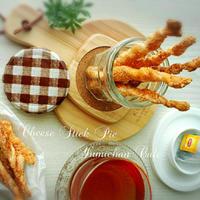 ♡市販のパイシートde作る♪チーズスティックパイ♡【ひらめき朝食*紅茶+パイde朝食*簡単】