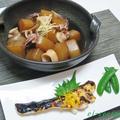 BMIのお話~大根とやりイカの煮物&鱈の黄身味噌焼き♪