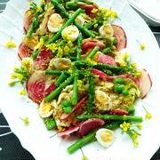 春キャベツのごちそうサラダ