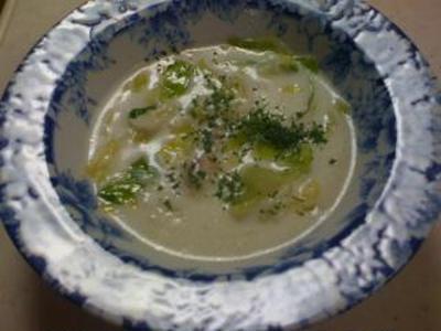 キャベツと玉ねぎたっぷりクリームスープ