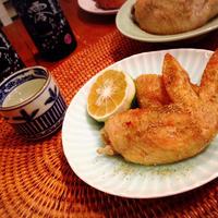シビ手羽焼きダブル山椒〜「澪」と楽しむパーティーレシピ!〆はスープ?!雑炊?!お好みで♪
