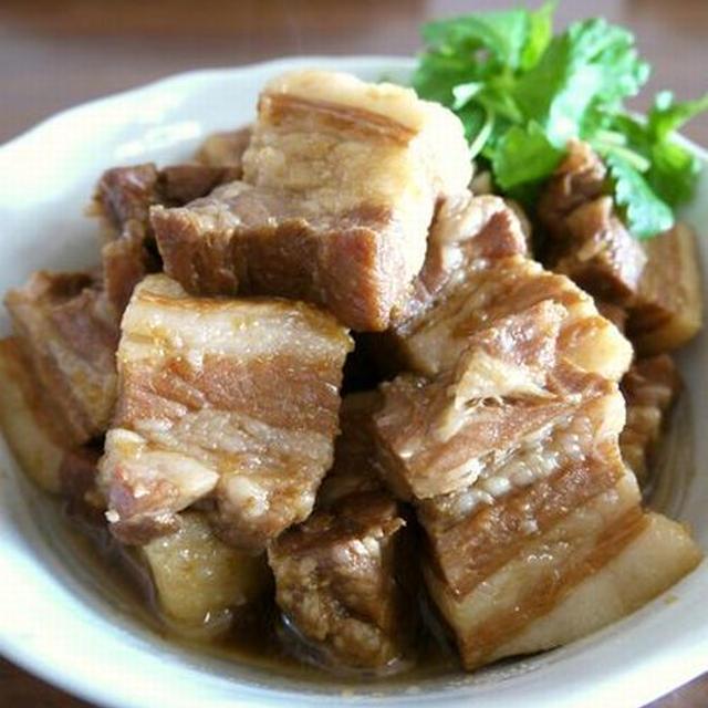 【簡単レシピ】柔らかジューシー☆豚の角煮♪