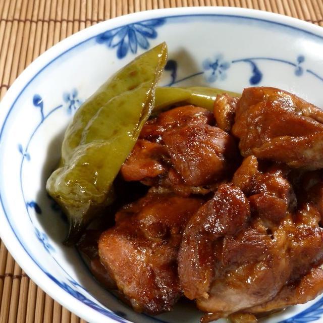 そうだ、鶏肉を梅肉と黒酢で、煮よう。