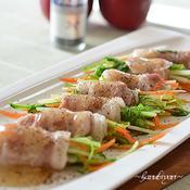 豚バラ肉の野菜巻き