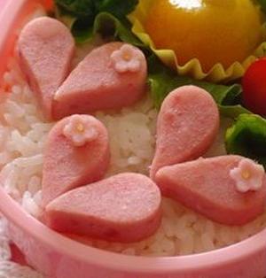 お弁当:ハートソーセージの作り方
