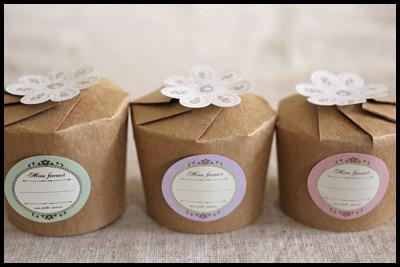 バレンタインに♪ホットケーキミックスで簡単!紙コップケーキとラッピング2種類