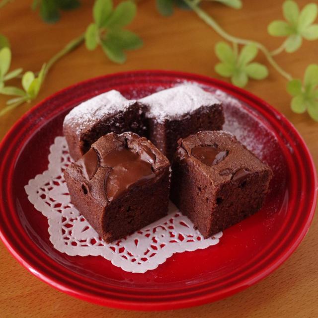 簡単おいしい♪チョコ感たっぷりチョコレートブラウニー
