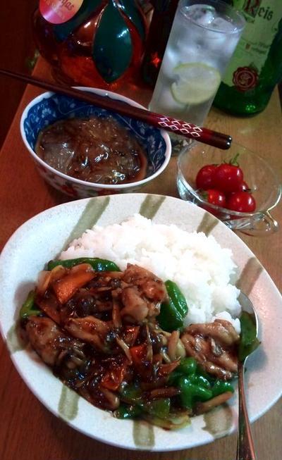 鶏肉と野菜のピリ辛タマリンドソース炒め ~ タイ料理★