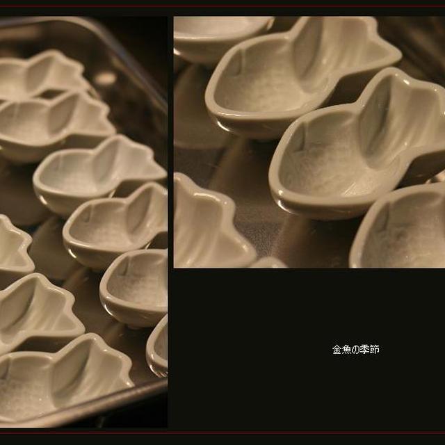 金魚の季節!(覚書レシピあり)