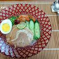 すだち&素麺 de 冷麺風 by さちくっかりーさん